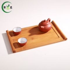 3 Different Styles Bamboo Tea Tray Tea Set With Volume Shaped Green Tea Oolong Tea Tray