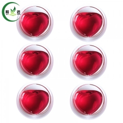 6pcs 30ml Double-Warm Heart Shaped Glass Cup With Heat-Resisting Green Tea Cup White Tea Cup Black Tea Cup