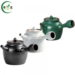 3 Styles 180ml Janpan Style Ceramic Teapot Cha Hu With Handle Side Of The Teapot Puer Tea Teapot Oolong Tea Teapot