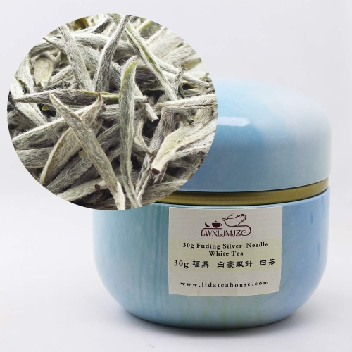 30g Top Quality Fuding Bai Hao Silver Needle White Tea Bai Hao Yin Zhen White Tea With Tin