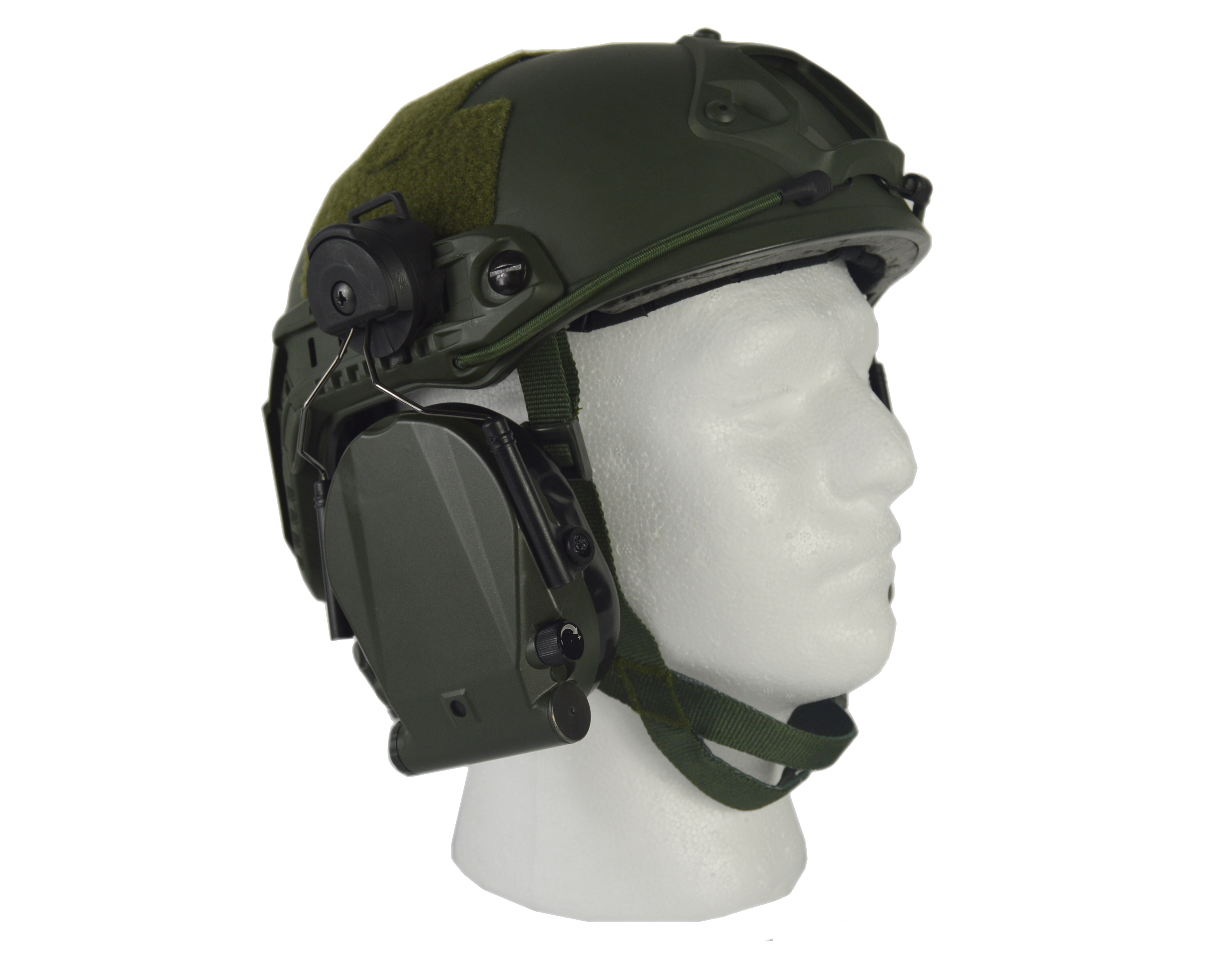 Superior Tactical Helmet Ear Protection
