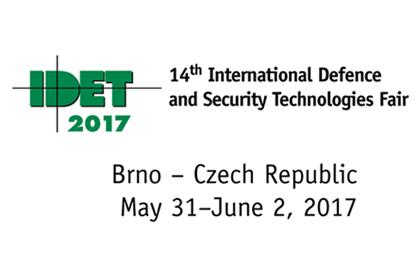 IDET 2017 stand C03 5.31-6.2
