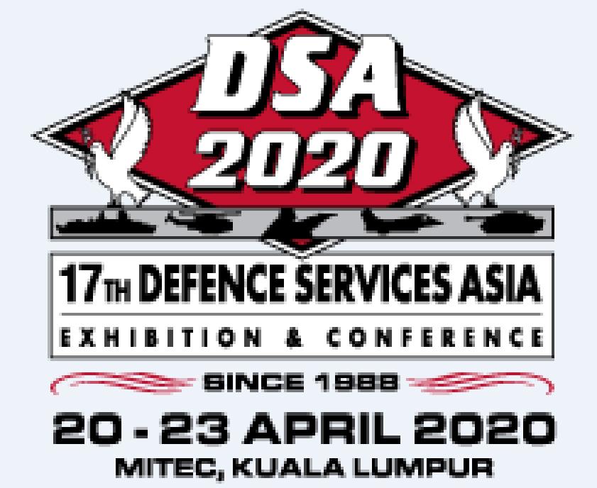 2020 DSA Kuala Lumpur,Mayalsia Booth no:10087 Hall 10