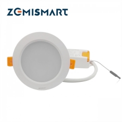 Zigbee 3.0 Smart RGBW Downlight Work with Smatthings Echo Plus LED Recessed Lights Light