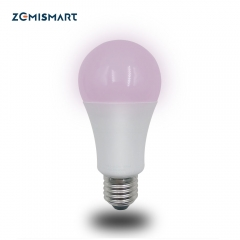 ZLL ZigBee Smart RGBW Led Bulb Light E27 Work with Amazon Alexa Echo Google home Smarthings Via zemismart Or 3party hub