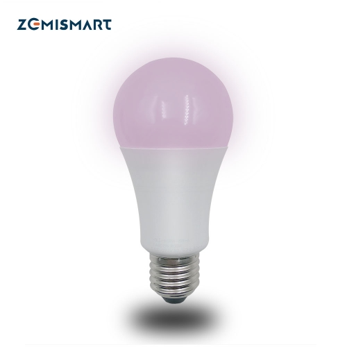ZigBee 3.0 Smart RGBW Led Bulb Light E27 Work with Smarthings