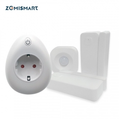 Door Sensor IR Sensor Outlet EU Outlet with USB charing Port Power Statistics Function Compatibe with Alexa Google H