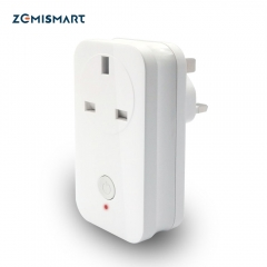 Zigbee 3.0 UK Power Socket Compatible With SamrtThings Echo Plus Smart Gadget Switch Wireless Phone APP Remote Outlet