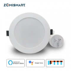 Zemismart AU Type 3.5 inch WiFi RGBW Led Downlight 10w Voice Control by Alexa Echo Google Home Assistant Home Automation IFTTT