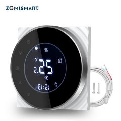 Zemismart Electric Floor Heater Thermostat Wifi APP Controlled Alexa Google Home Voice Control