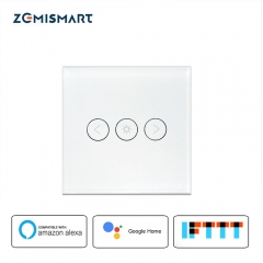 Zemismart EU Dimmer Swith Touch Switch Work with Alexa Google Home Support Timer Brighter Control Home Automation