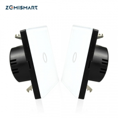 Zemismart WiFi Wall Switch 2 Way Remote Control Light Smart life APP Alexa Google Home Voice Control Master and Slave Switches