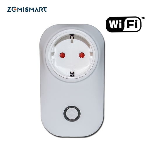 EU Power Plug Outlet Compatible With Echo WIFI Wireness Remote Cotrol Smart Home 110-240v