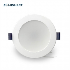 Zemismart SAA 3.5 inch WiFi RGBW Led Downlight 10w Voice Control by Alexa Echo Google Home Assistant Home Automation IFTTT