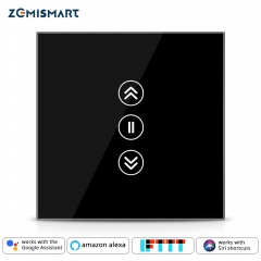 Zemismart Smart Switch For Electric Blind Curtian Alexa Echo Google Home WiFi Interruptor Touch Control 110V 220V