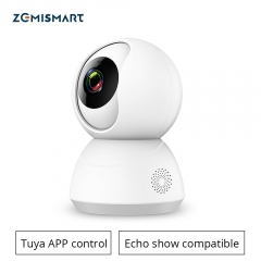 Tuya WiFi CCTV Camera Tilt Intercome Work with Alexa Echo Show Smart Home Security Alarm