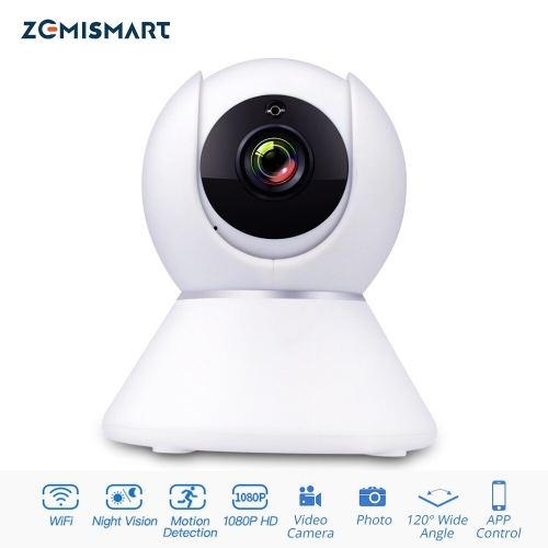 Tuya WiFi CCTV Camera 1080P Intercome Standard ONVIF Smart Home Security Alarm