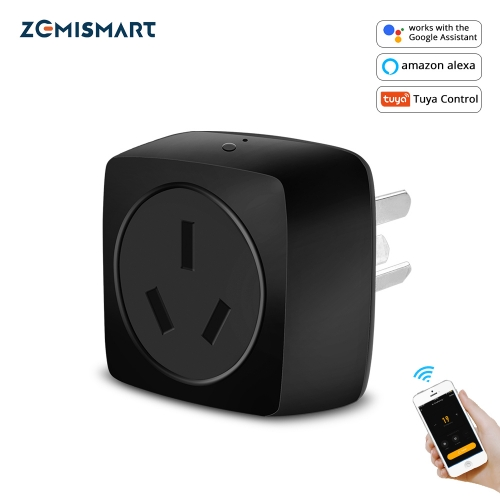 Zemismart 16A WiFi Air Conditioner Controller Socket Outlet with IR Remote Controller Google home Alexa
