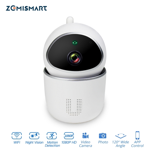 Tuya WiFi Echo Show CCTV Camera 1080P Intercome Standard Smart Home Security Alarm