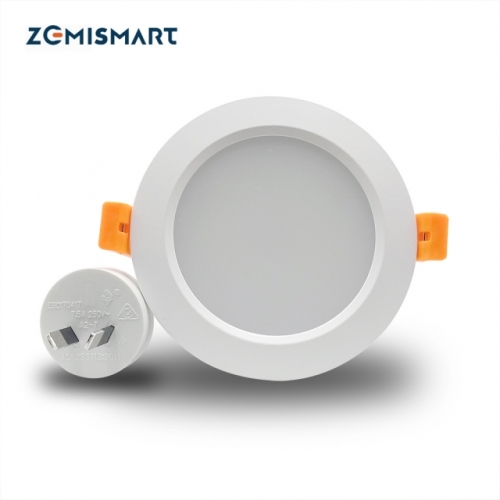 ZigBee 3.0 Smart RGBW 2.5 inch Downlight Led Bulb Light Work with Amazon Echo Plus Directly  Smart Lighting Solution