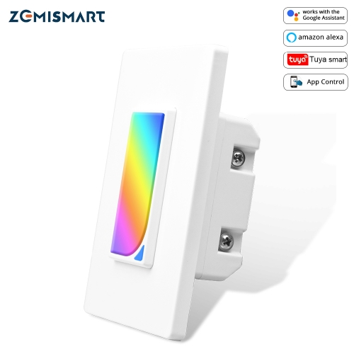 WiFi Wall Light Switch with Night Light Smart Life APP Alexa Google Home Voice control Smart US Push Switches