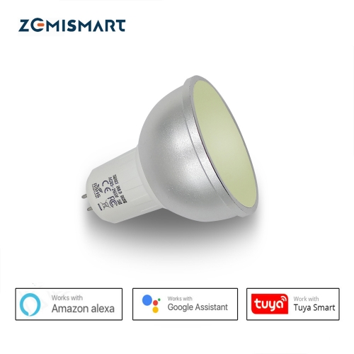 RGBW Bulb LED Light GU5.3 Work With Alexa Google Home Smart Home WIFI Voice Remote Wireless Timer Intelligent Control