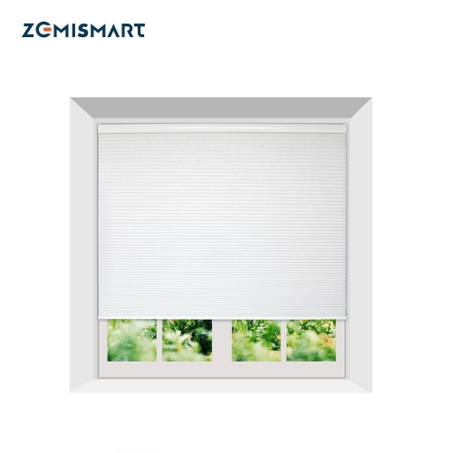 Zemismart Electric Honeycomb Blind cellular shades Tuya Smart Life Alexa Googl Home Control