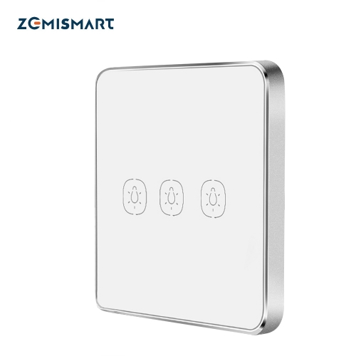 Zemismart Zigbee Smart Remote Switch work with Tuya zigbee hub Zigbee Sticker Switch