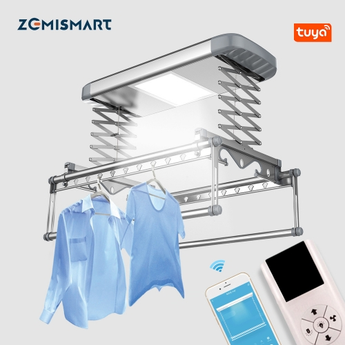 Zemismart Tuya WiFi Clothes Dryer Remove mites folding portable electric hot air