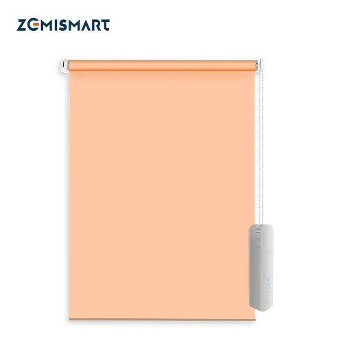 Zemismart WiFi Tuya No Screw Manual Roller Shade Blinds Customized Curtain Alexa Google Home Smart Life Control Easy Install
