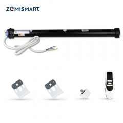Zemismart Tuya Zigbee Roller Blind Motor for 50 mm Tube Alexa Google Home Control motorized Shutter Engine Smart Life Control