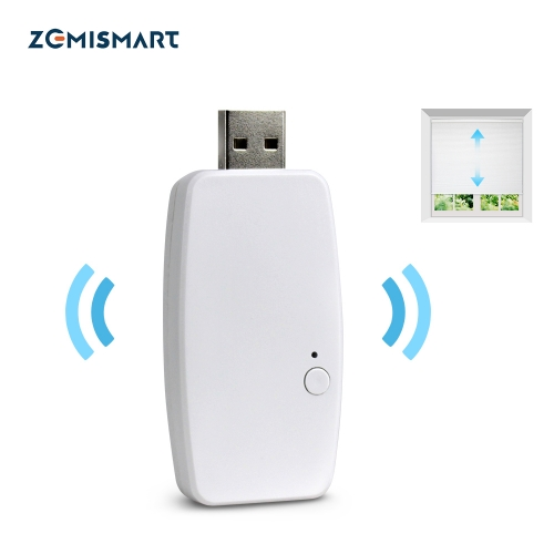 Zemismart Wifi Dongle For Am15 App Control RF motor Mini Design Smart Curtain