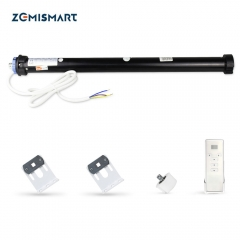 Zemismart Tuya Zigbee Roller Blind Motor for 40mm 50 mm Tube Alexa Google Home Control motorized Shutter Engine Smart Life Control
