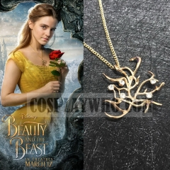Beauty and the Beast (2017 film) Belle Rose Necklace