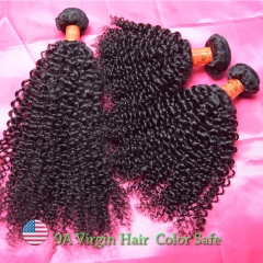 Malaysian Mink Hair Weaving  Curly 9A Grade Wholesale Curly Hair Bundles
