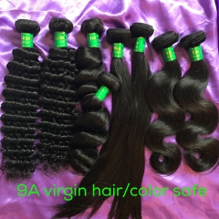 2017 New Arrive Top Quality Indian Virgin Hair 4 Texture Silky Straight/Body Wave/Deep Wave/Loose Wave