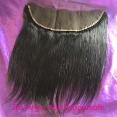 Ballice Hair Top Quality Ear to Ear Straight lace Frontal Closure 13*4 inch