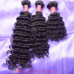 Mink Hair Brazilian Deep Wave 9a Virgin Hair Extension