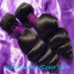 Ballice Virgin Hair Vendor Wholesale Mink Hair Peruvian Loose Wave Virgin Hair Bundles Affordable Price