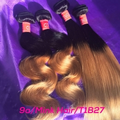 Wholesale Mink Brazilian Hair Ombre Hair