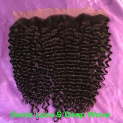 Wholesale Mink hair Lace Frontal Top Quality Deep Frontal Weave