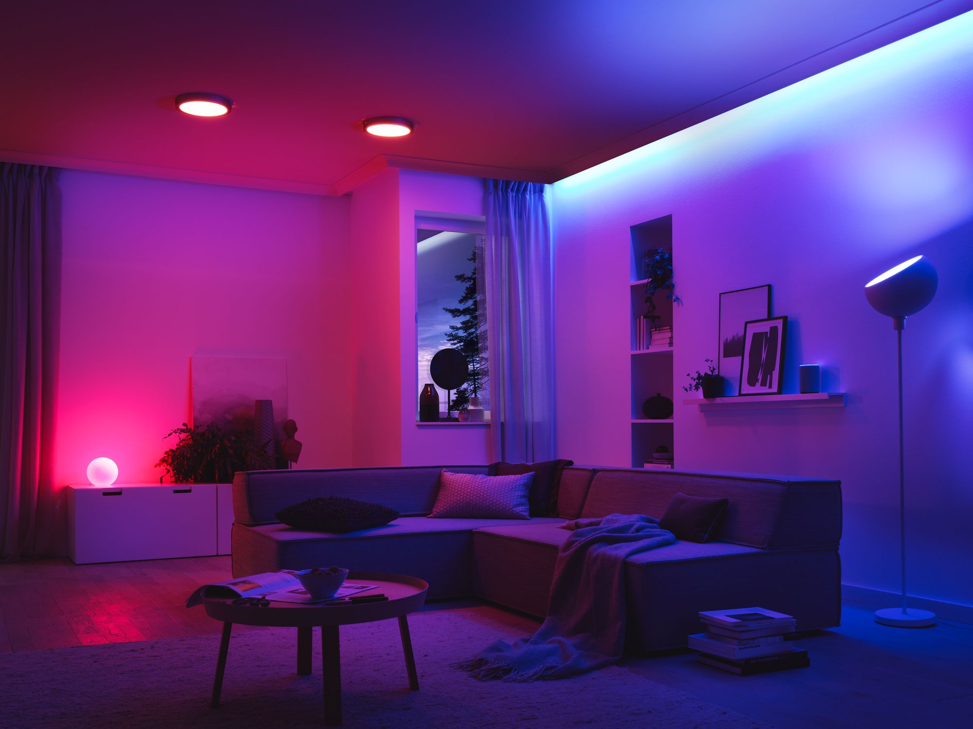 Your Next Light Bulb should be a Color Changing Light Bulb