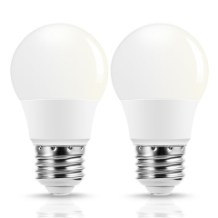 A15 LED Light Bulbs, 40W Equivalent(5W), Natural Daylight White 4000K, 420LM, Pack of 2