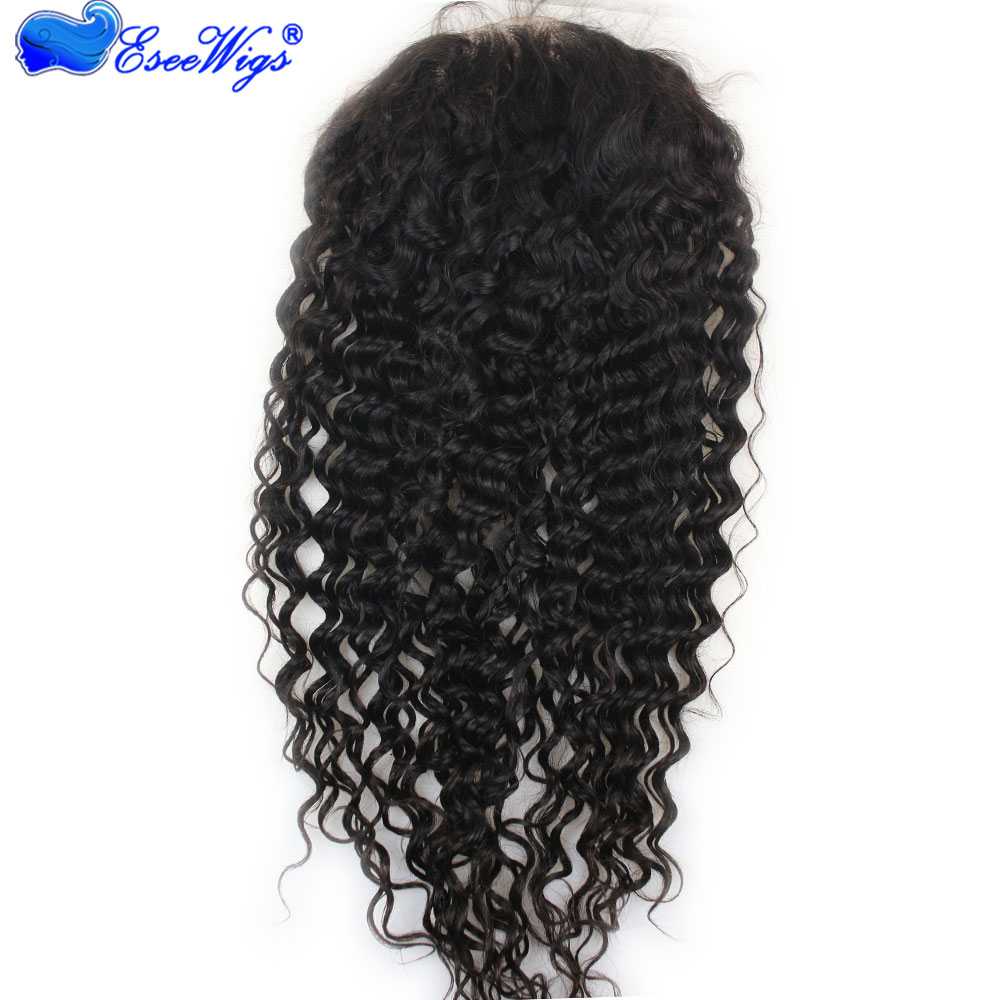 brazilian deep wave lace wig