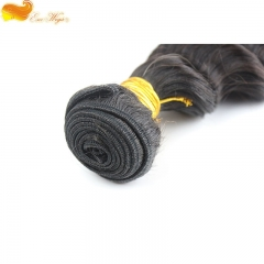 3pcs Deep Wave Unprocessed brazilian Virgin Hair Extensions Bundles Human Hair Weft Free Shipping