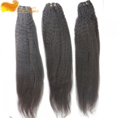 8A Grade Hotsale Human Hair Extensions Brazilian Cheap Unprocessed Hair Bundles Kinky Straight 100g/pc Brazilian Hair 3pcs Lot