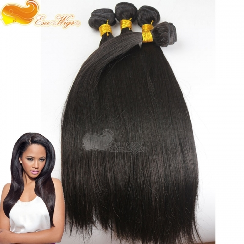 4pcs lot Hair Bundles 100% Brazilian Straight Virgin Unprocessed Hair Weft 100g/pc