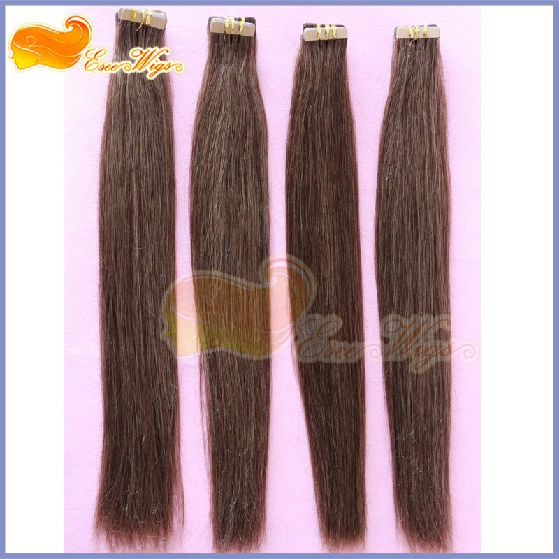 33 Brown Color Micro Tape And Hair Extension Great Length Fusion