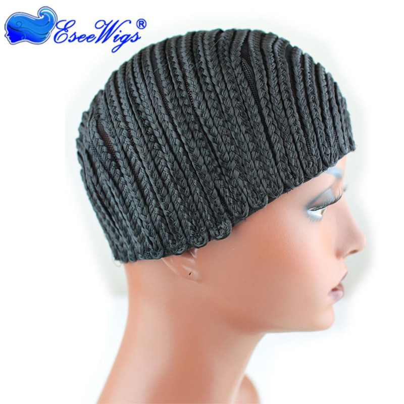Cornrows Wig Cap Easier To Sew In With Adjustable Strap