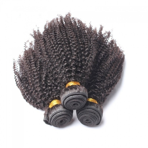 Brazilian Afro Kinky Curly Human Hair 3 Bundles Deal 28inch Hair Weave